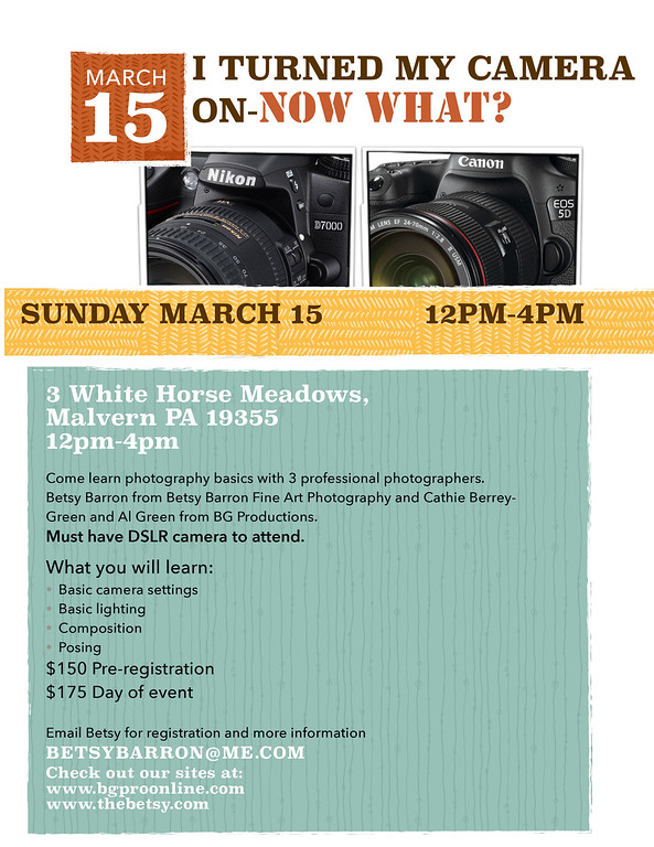 March 15 2015 Workshop!